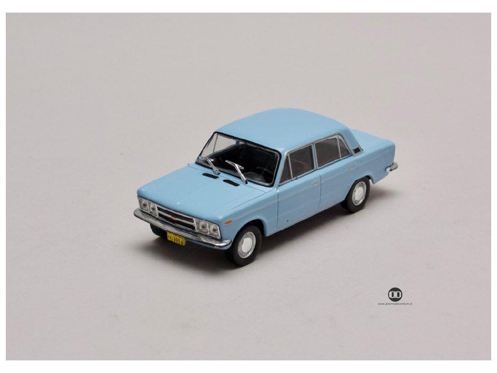 Fiat 125 P 1972 světle modrá 1 43 Champion 01