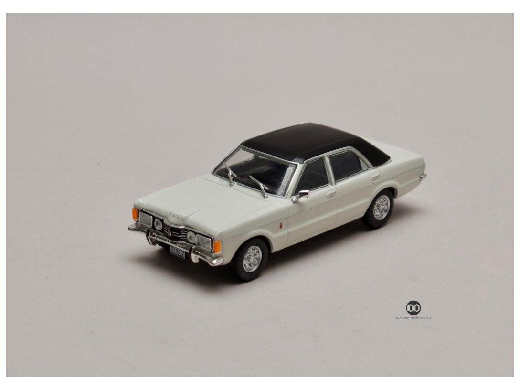 Ford Taunus GXL 1974 krémová černá střecha 1 43 Champion 01