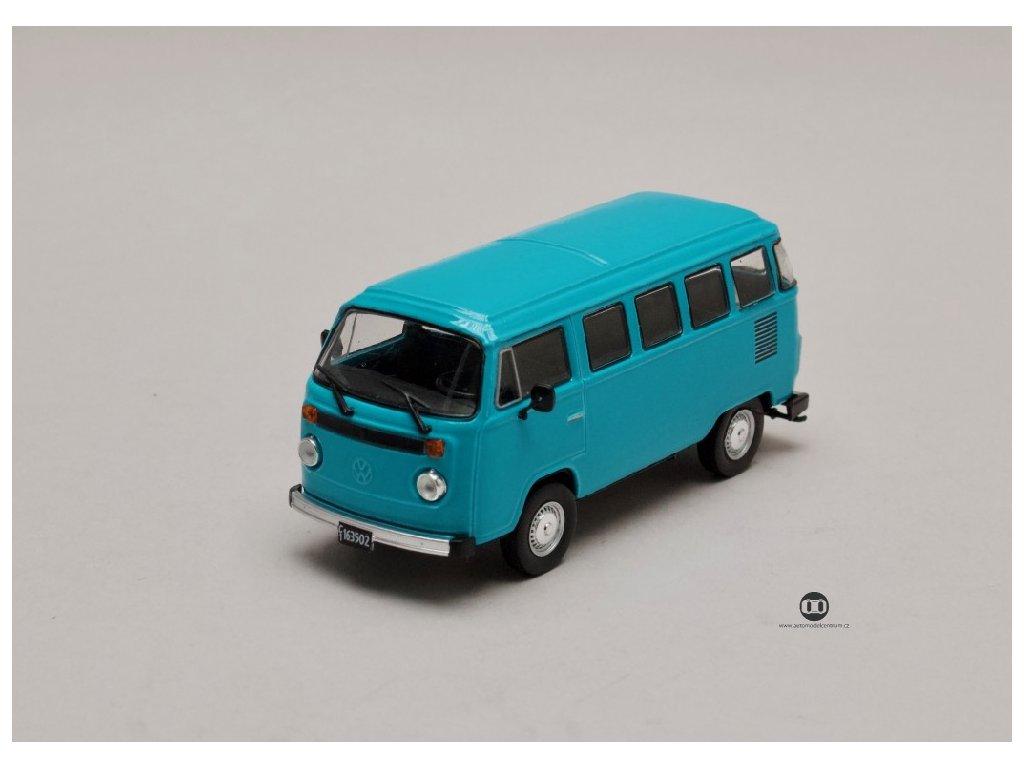 Volkswagen T2 b 1982 modrá 1 43 Champion 01