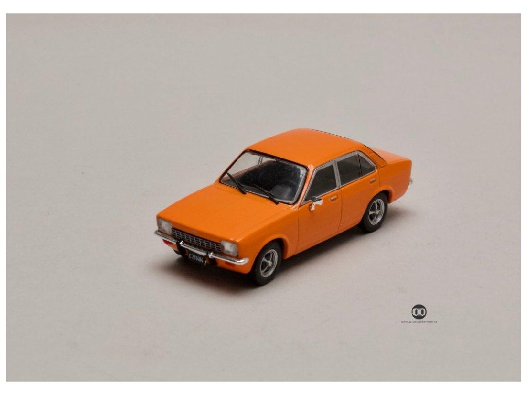 Opel K180 1974 Kadet c4 čtyřdvéřový oranžová 1 43 Champion 01