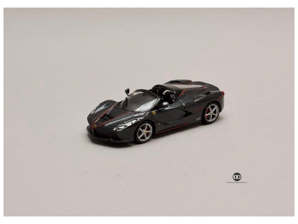 LaFerrari Aperta 2016 metalíza černá 1 43 Champion 01