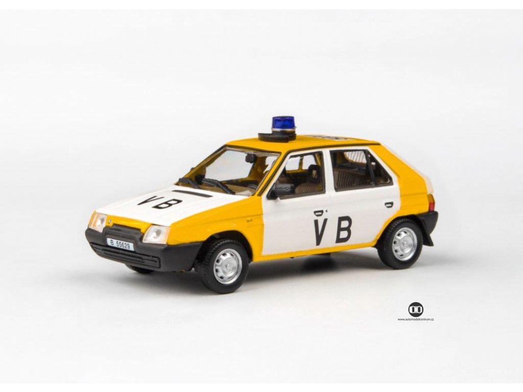 Škoda Favorit 136L 1988 Veřejná Bezpečnost 1 43 Abrex 143ABSX 708XA6 01