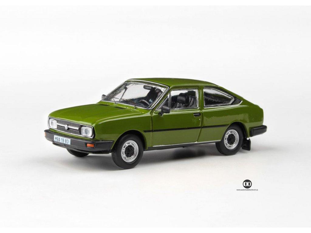 Škoda Garde 1982 bílá Ledová 1 43 Abrex 143ABS 722QN 01
