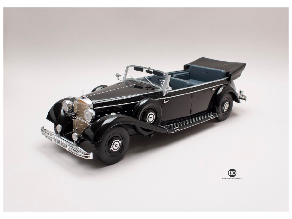 Mercedes 770 Convertible 1938 W150 černá 1 18 MCG MCG 18207 01