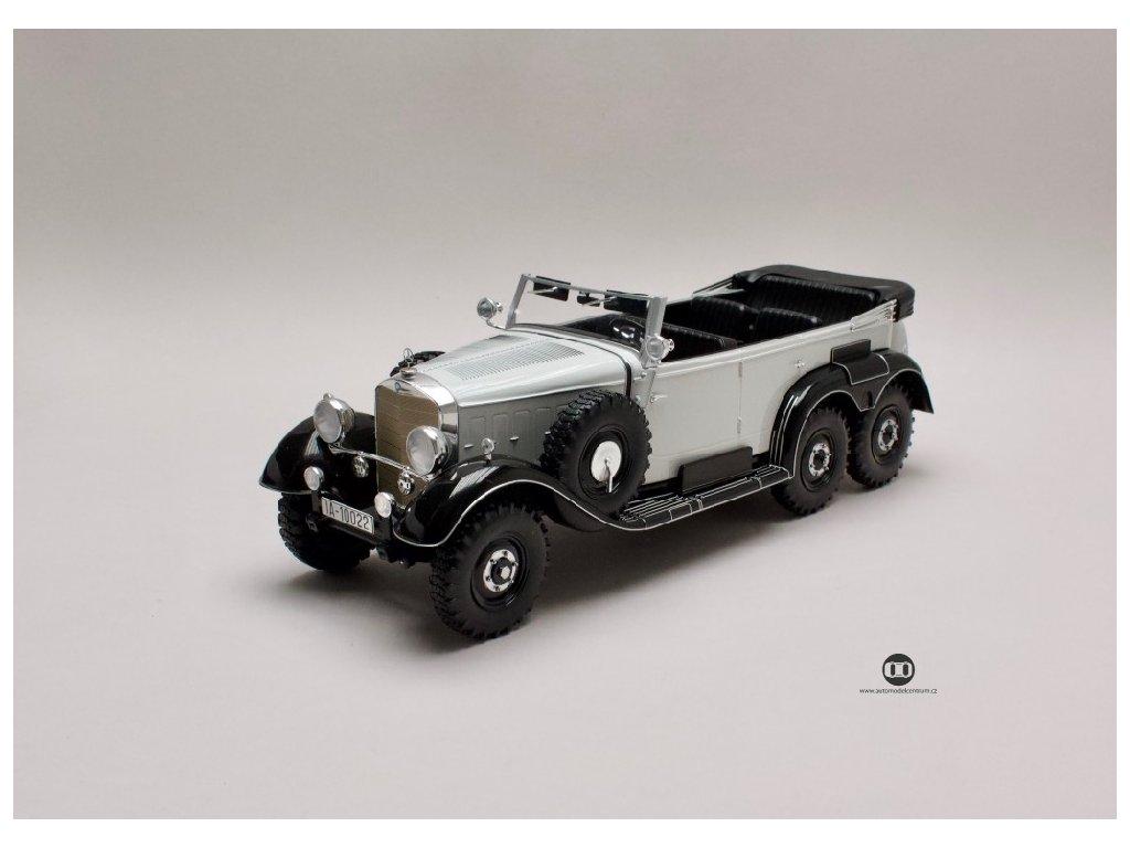 Mercedes G4 1938 W31 světle šedá černá 1 18 MCG MCG 18208 01