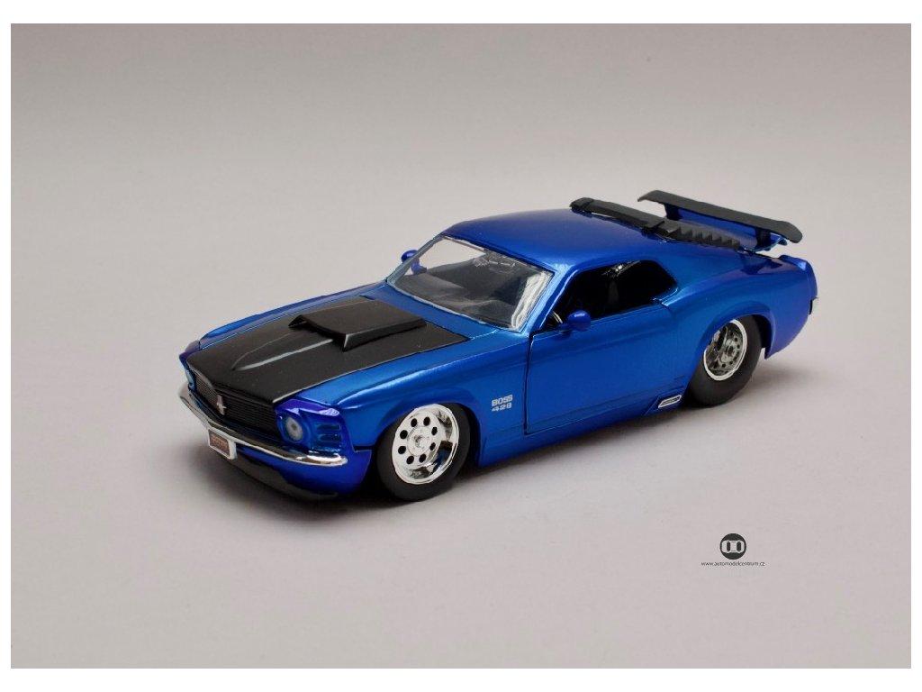 Ford Mustang Boss 429 1970 1 24 Jada Toys 31647 01