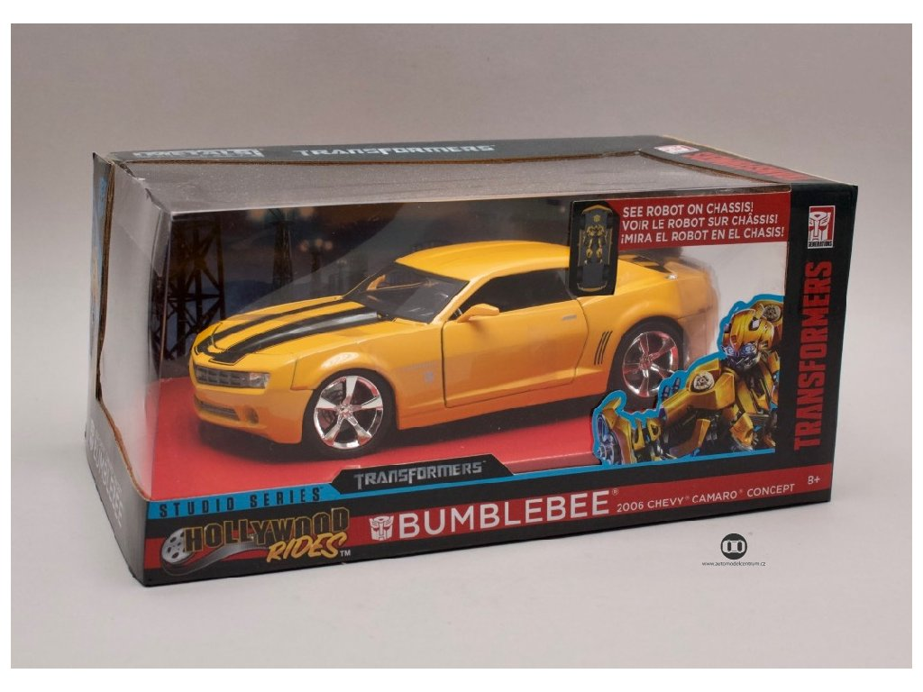 Transformers Chevrolet Camaro 2006 Bumblebee 1 24 Jada Toys 98399 02