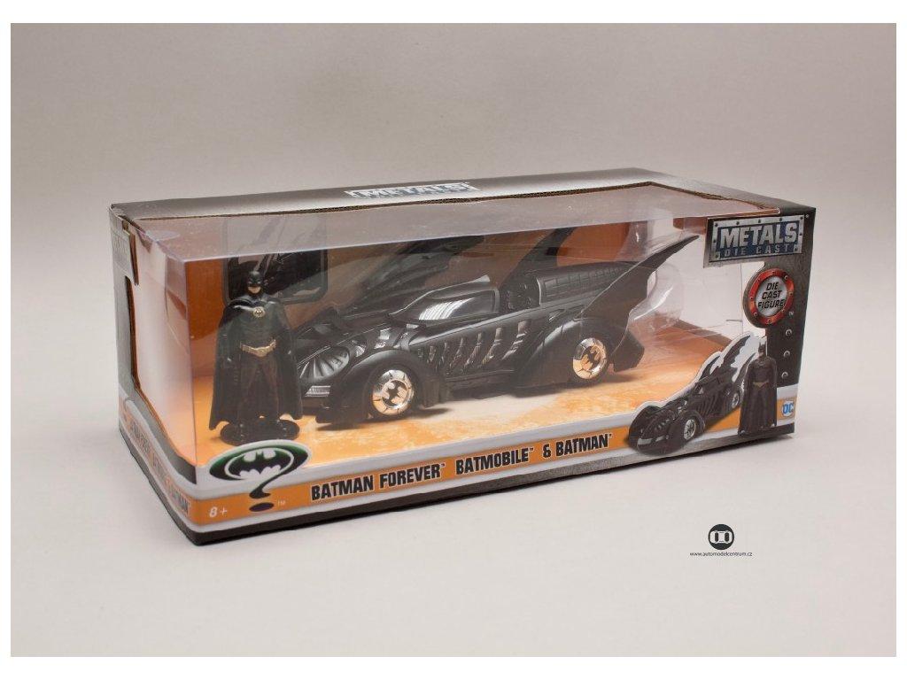 Batmobile %22Batman Forever %22 + figurka 1 24 Jada Toys 98036 02