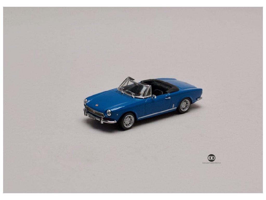Fiat Spider 124 BS modrá 1 43 Vitesse 24603 01