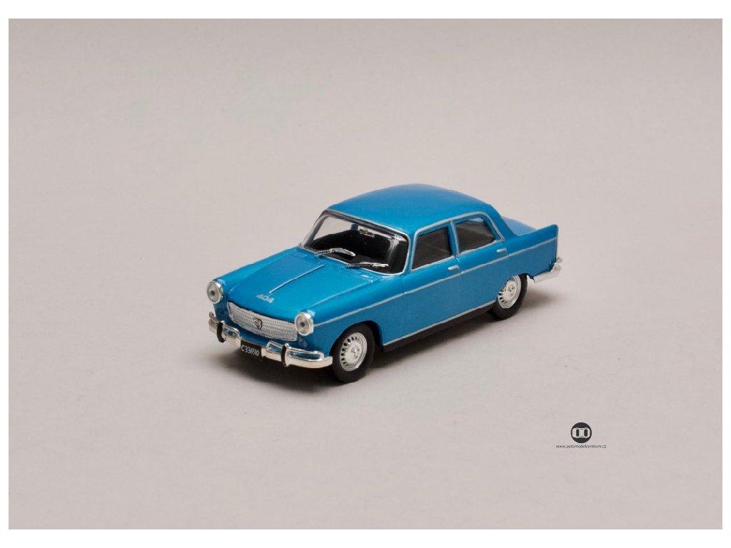 Peugeot 404 1968 metalíza modrá 1 43 Champion 01