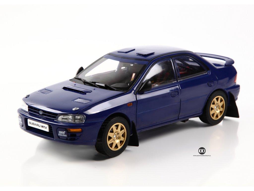 Subaru Impreza Sti 1996 Street Car Legal modrá 1 18 Sun Star 5512 01