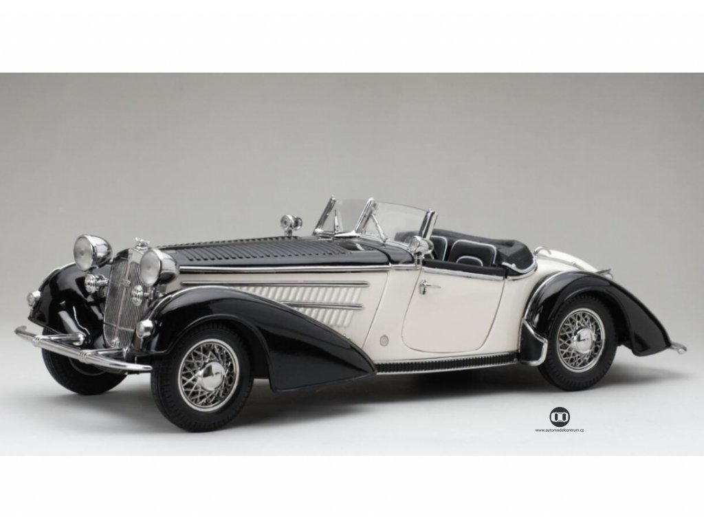 Horch 855 Roadster 1939 černo bílá 1 18 Sun Star 2405 01