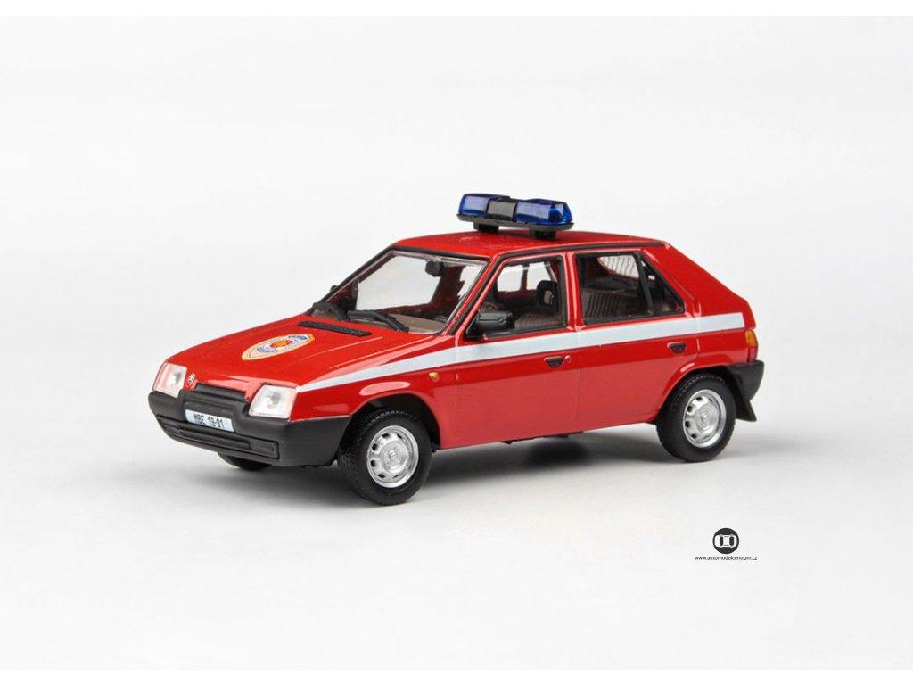 Škoda Favorit 136L 1988 Hasiči 1 43 Abrex 143ABSX 708XL2 01