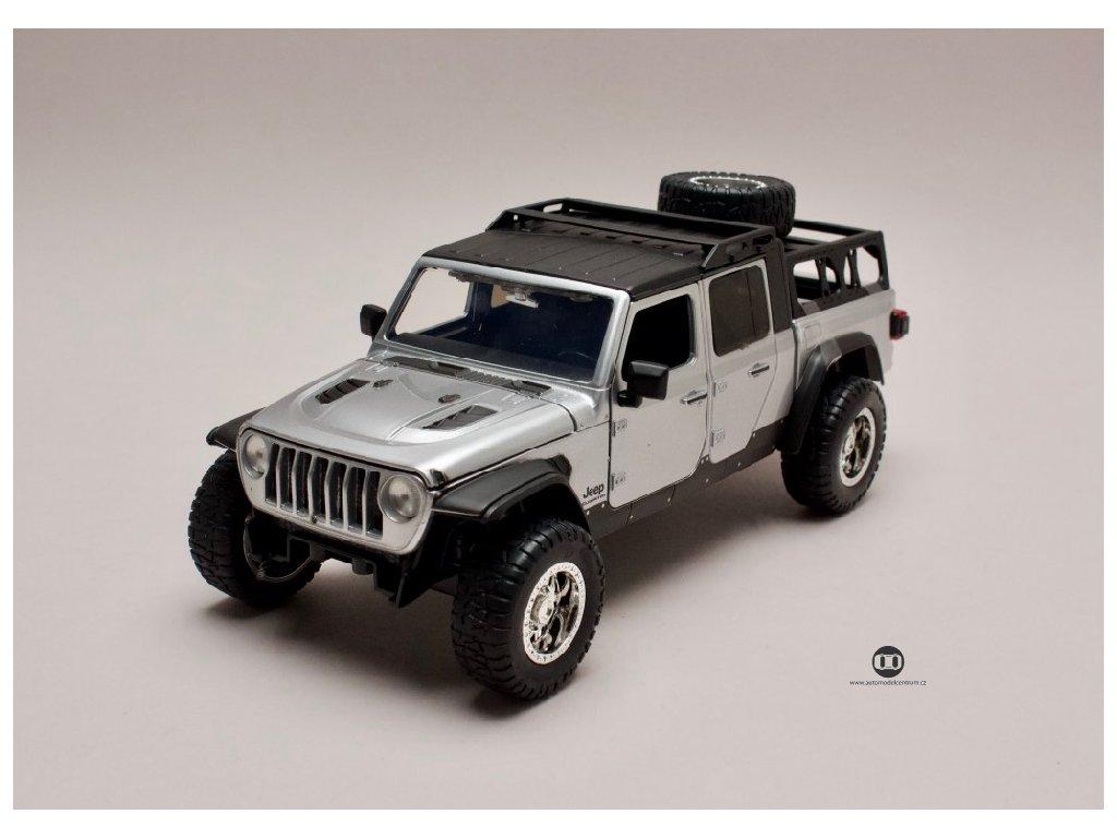 Jeep Gladiator 2020 Rychle a zb. (Fast & Furious) 1 24 Jada Toys 31984 01