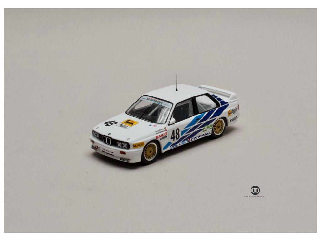 BMW E30 M3 #48 WTCC 1987 1 43 IXO GTM130 01
