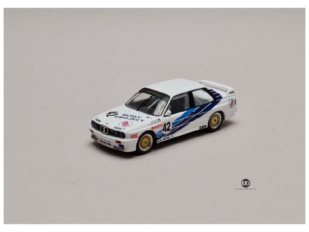 BMW E30 M3 #42 Dijon 1987 1 43 IXO RAC262 01