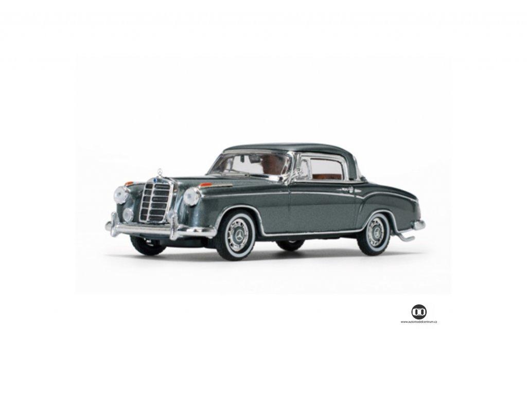 Mercedes Benz 220SE Coupe 1958 Silver 1 43 Vitesse 28664 01
