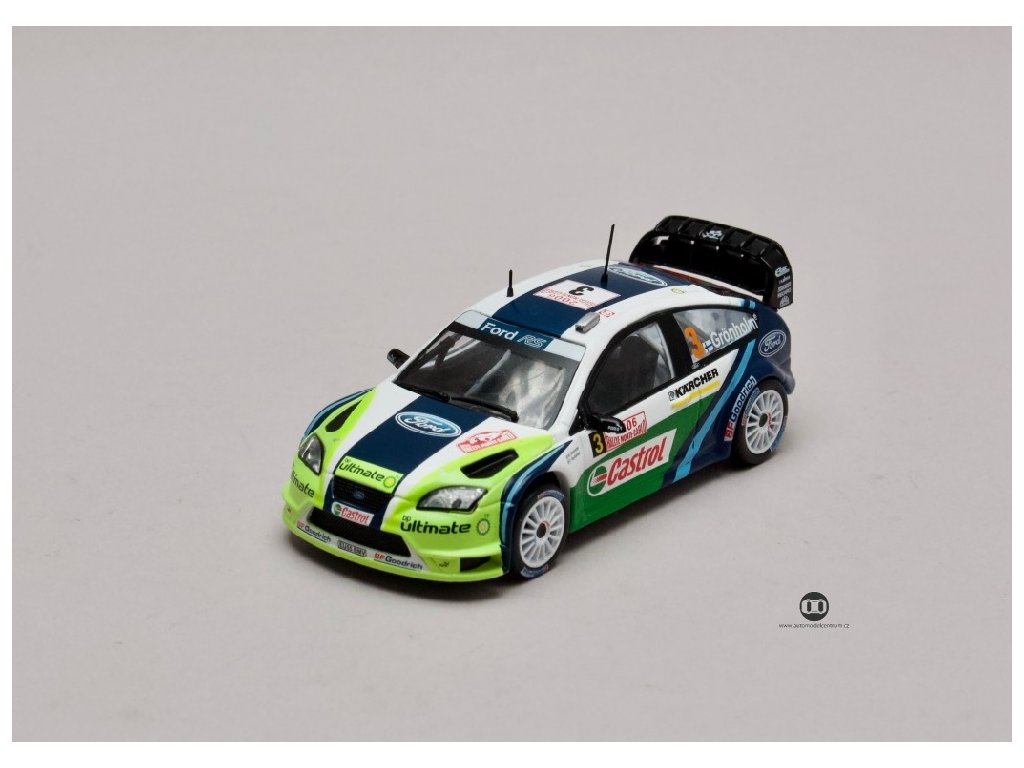 Ford Focus WRC #3 Rallye Monte Carlo 2006 1 43 Atlas 3575029 01