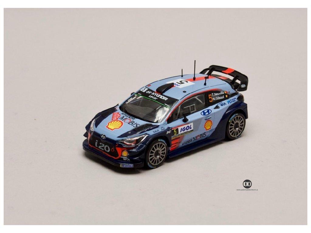 Hyundai i20 WRC Coupe #5 Tour de Corse 2017 1 43 Champion 01