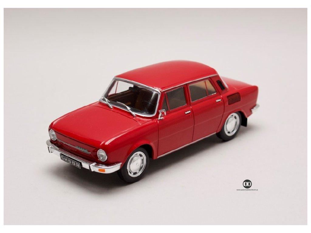 Škoda 100 L červená 1 24 WhiteBox 124048 01