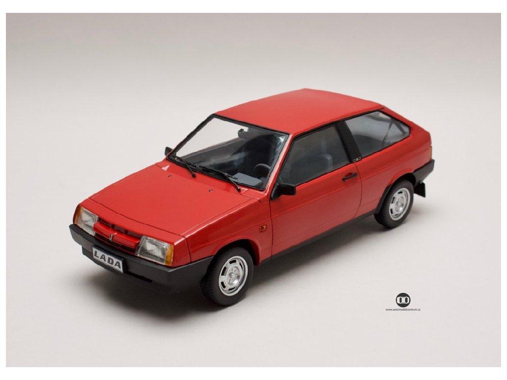 Lada Samara 2108 1989 červená 1 18 PSM Models 18003 01
