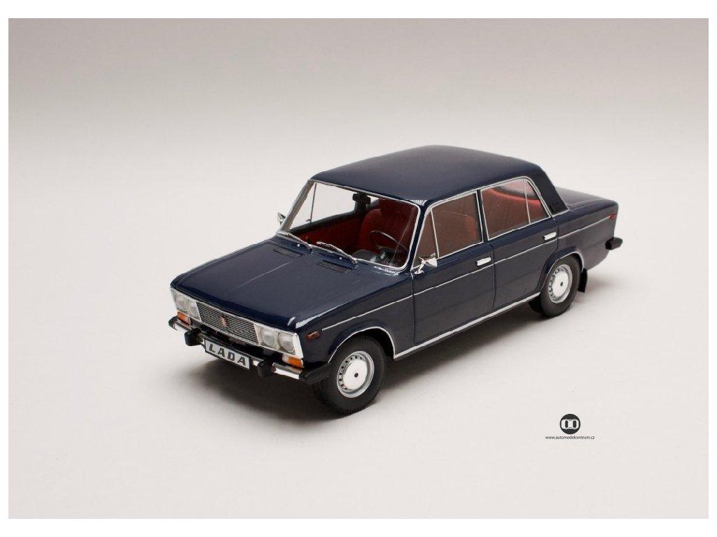 Lada 1600 1976 modrá červený interiér 1 18 Triple9 Collection 1800243 01