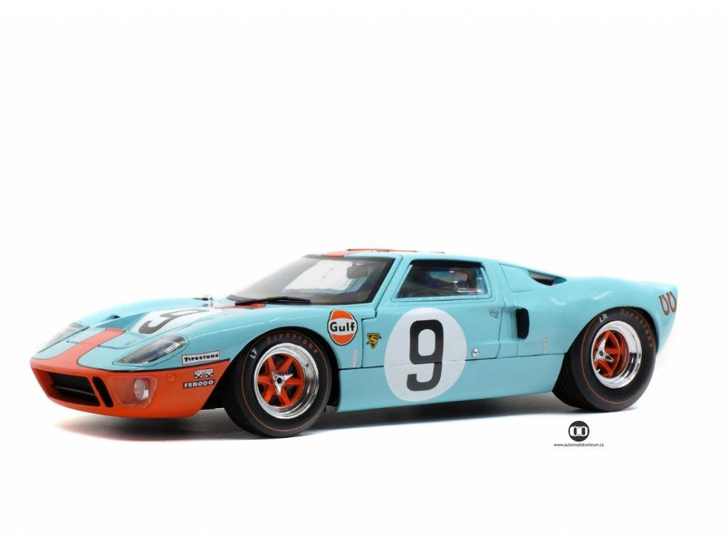 Ford GT40 MK1 #9 Winner 24h LeMans 1968 1 18 Solido 1803001 01