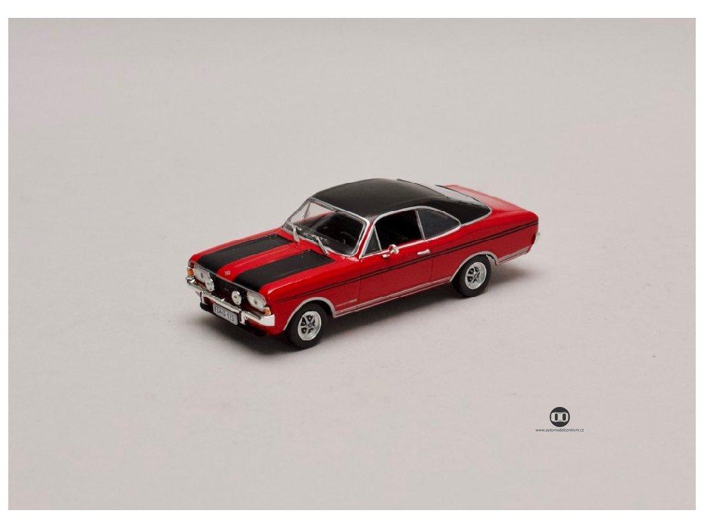 Opel Commodore A Coupe GS:E 1970 1971 červená 1 43 Champion 01