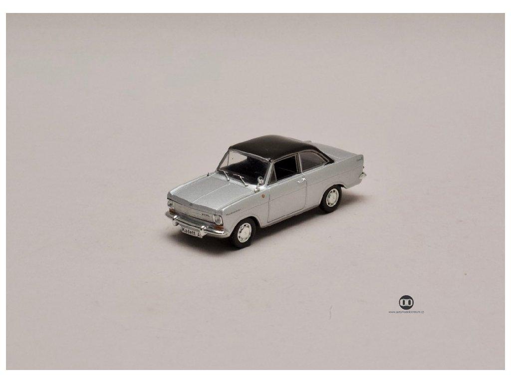 Opel Kadett A Hans Mersheimer stříbrná 1 43 Champion 01