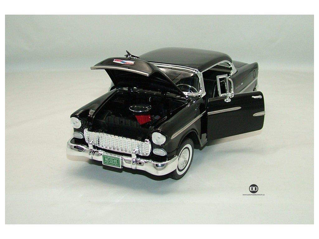 Chevrolet Bel Air 1955 černá 1:18 Motor Max