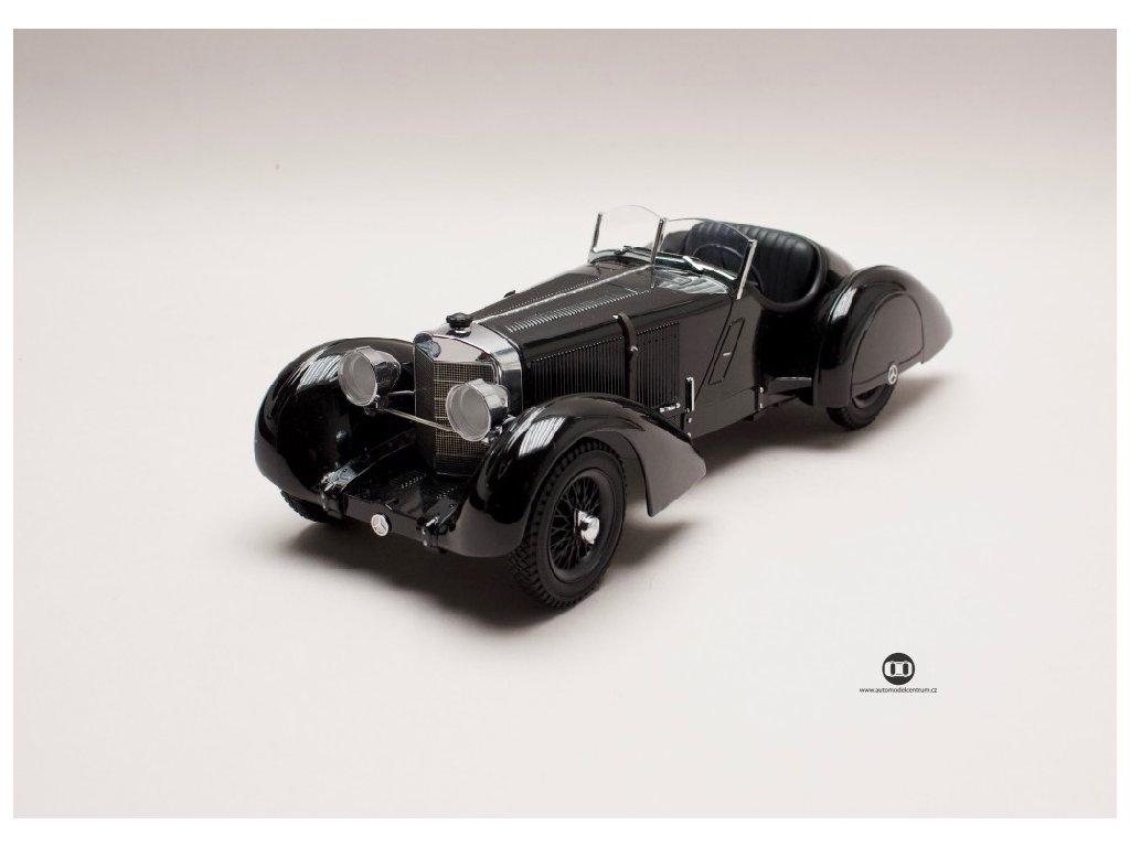 Mercedes Benz SSK 1930 Cabriolet černá 1 18 KK scale 180131 01