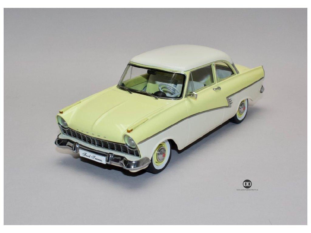 Ford Taunus 17M P2 1957 žlutá bílá střecha 1 18 KK scale 180273 01