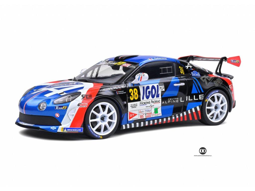 Renault Alpine A110 R GT #38 Rallye Du Mont Blanc 2020 1 18 Solido 1801607 01