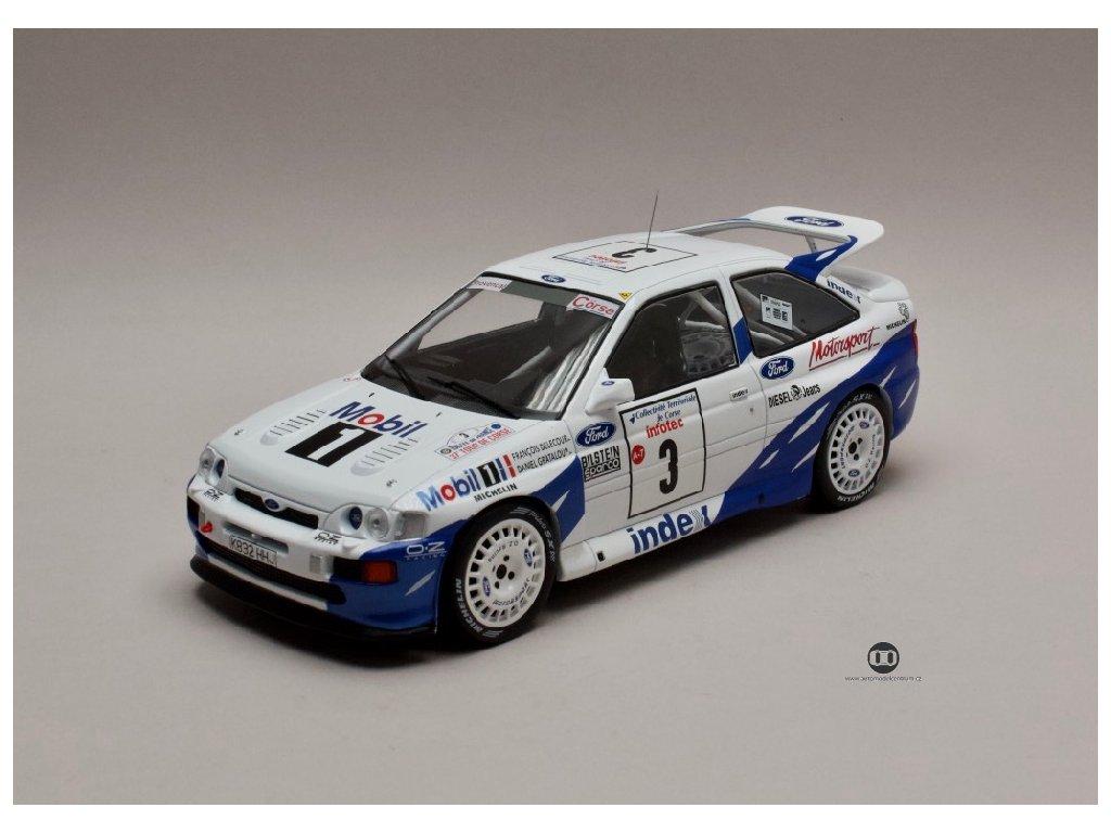 Ford Escort RS Cosworth #3 Winner Rallye Tour de Corse 1993 1 18 IXO 18RMC055A 01