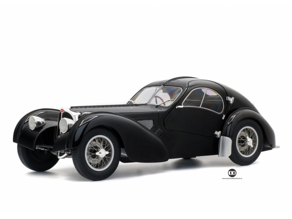 Bugatti Atlantic Type 57 SC 1937 černá 1 18 Solido 1802101 01