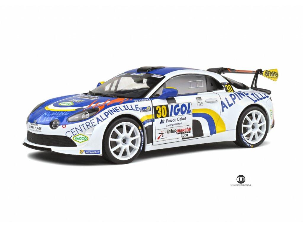 Renault Alpine A110 Rally RGT #30 Rallye du Touquet 2020 1 18 Solido 1801608 01