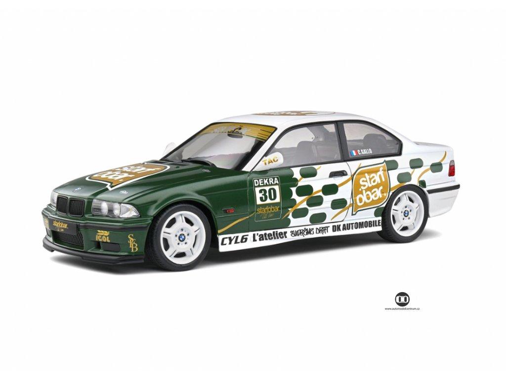 BMW M3 E36 #30 Coupe 1994 %22Starfobar Tic Tac%22 1 18 Solido 1801508 01