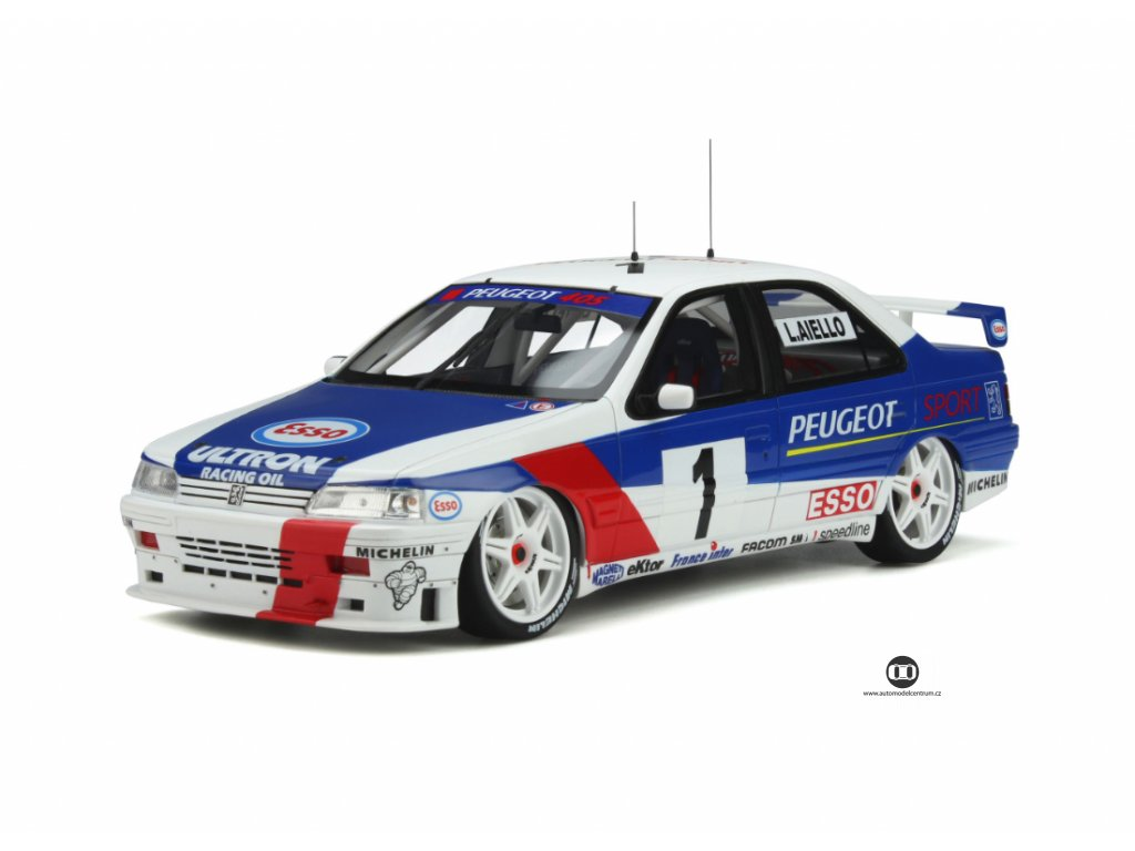 Peugeot 405 MI16 Super Tourisme 1995 #1 %22resin model %22 1 18 OttOmobile OT364 01