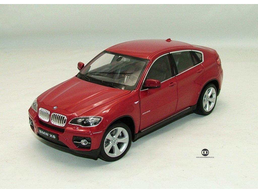 BMW X6 červená 1:24 Welly