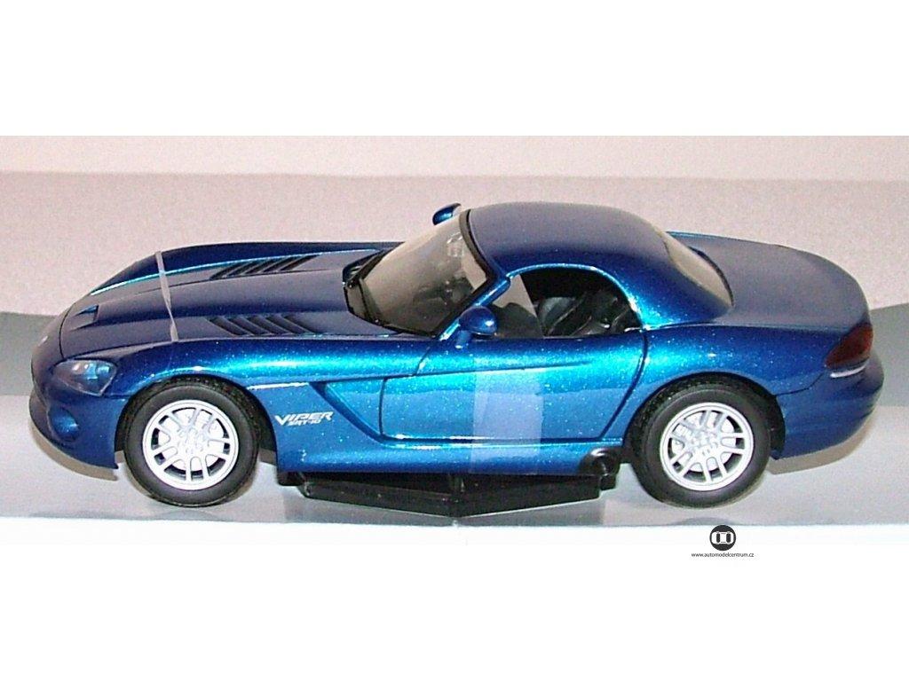 Dodge Viper modrá 1:24 Mondo Motors