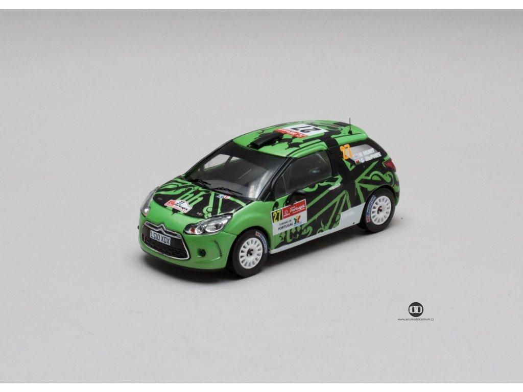 Citroen DS3 R3 # 27 Rally Portugal IRC 2011 1:43 IXO