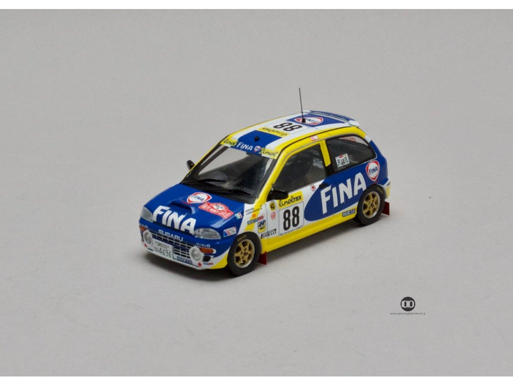 Subaru Vivio RX-R # 88 Rally Monte Carlo 1999 1:43 IXO
