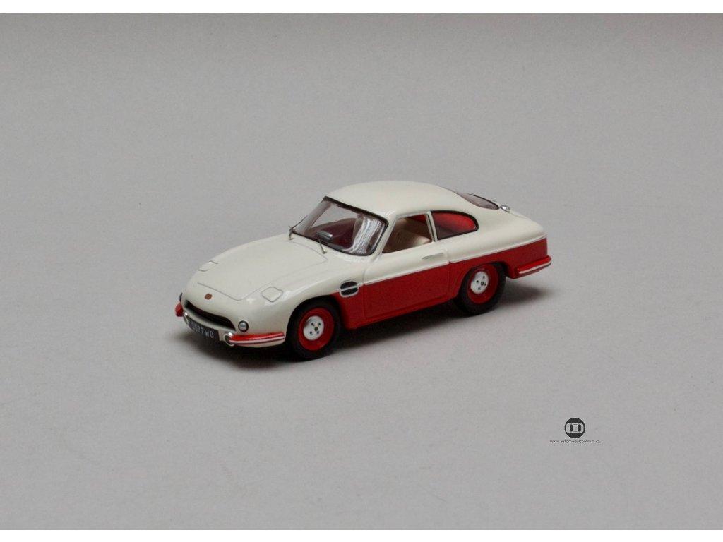 Panhard HBR5 DB 1957 béžovo-červená 1:43 IXO