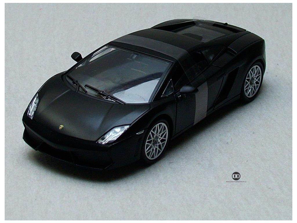 Lamborghini LP 560-4 černá 1:24 Mondo Motors