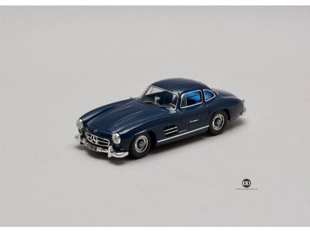Mercedes-Benz 300SL W198 1955 modrá 1:43 IXO