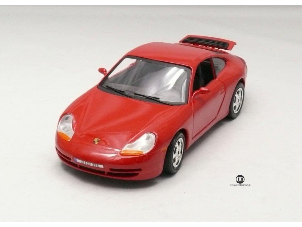 Porsche 911 Carrera červená 1:24 Bburago