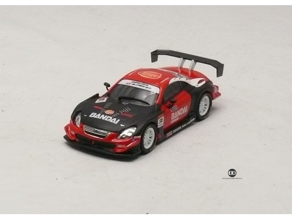 Lexus SC 430 2007 # 35 Test Car 1:64 Kyosho