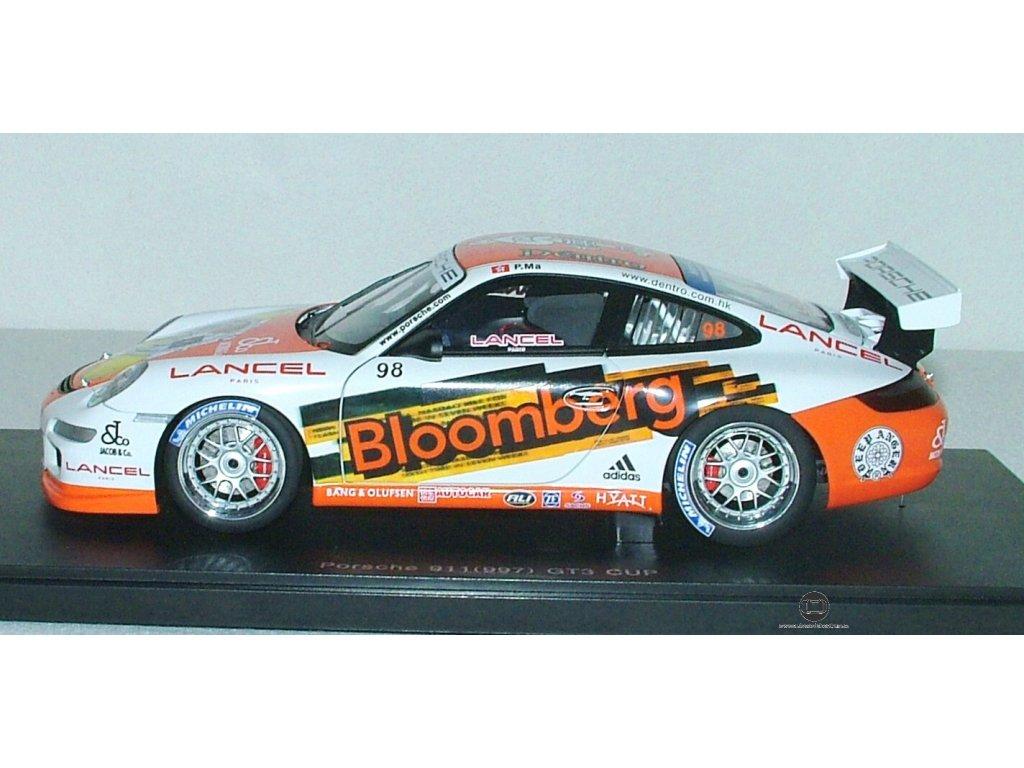 Porsche 991 (997) GT3 CUP # 98 2006 1:18 Auto Art