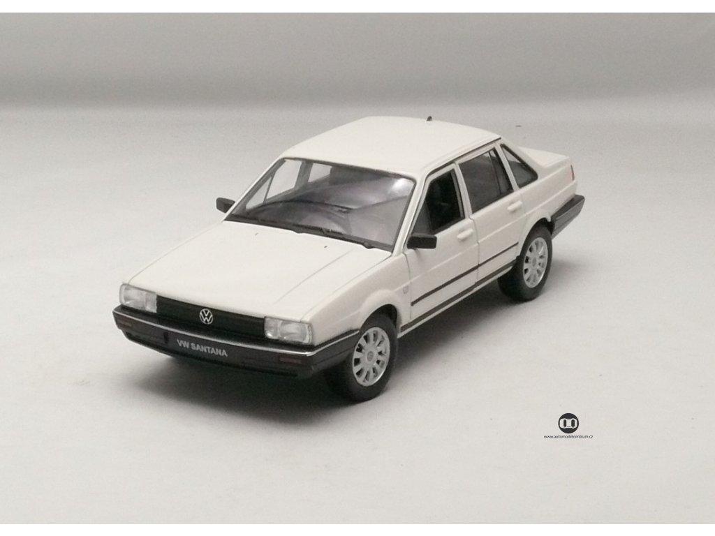 VW Santana 1986 bílá 1:24 Welly