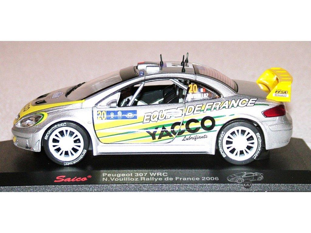 Peugeot 307 WRC 2006 Saico 1 32 č20 stříbrná01